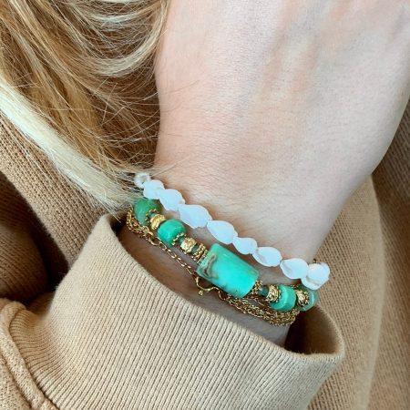 Bracelet grosses pierre