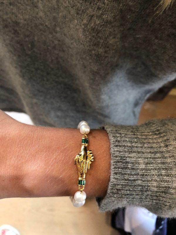 Bracelet perle mani in Fede