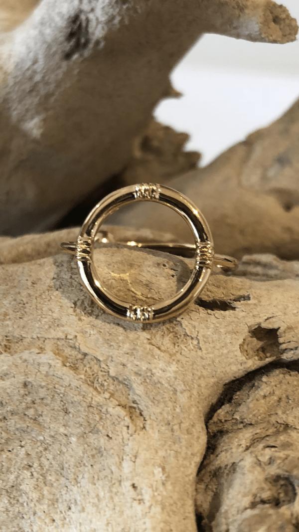 Bague anneau ronde